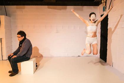 ディレクターグ42 岡田利規 短編小説選『女優の魂』『続・女優の魂』イメージビジュアル 提供:ディレクターグ42