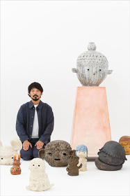 大谷工作室『僕が17歳の時、ジャコメッティの話を美術の先生に聞いて、彫刻に憧れて、僕は今、彫刻を作ってます。』メインビジュアル Photo:Toru Kometani Courtesy of Kaikai Kiki Gallery