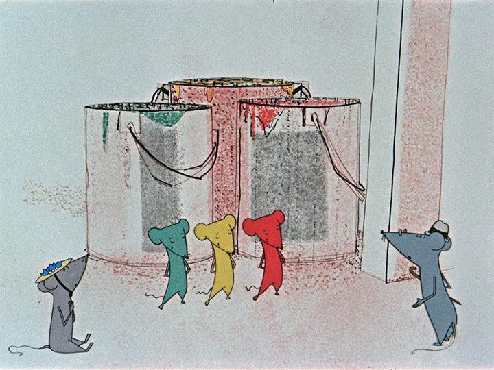 『青いネズミはどこにもいない』 ©DEFA-Stiftung, Hans Schöne
