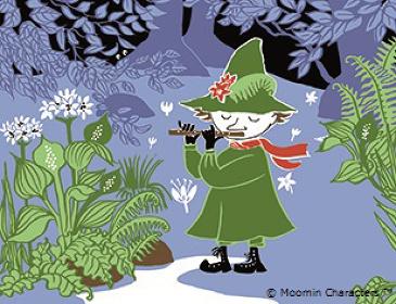 『Moominfamily's Songbook』彩色原稿 ©Moomin Characters™