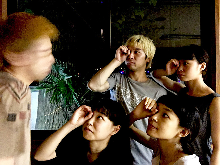 東京ELECTROCK STAIRS『前と後ろと誰かとえんを壊せ』イメージビジュアル