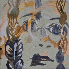 岡田葉『顔の庭』2006年