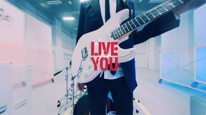 『LIVE for YOU』イメージビジュアル