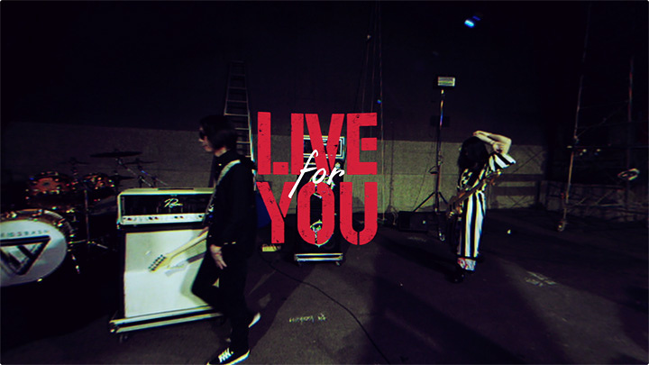 『LIVE for YOU』イメージビジュアル