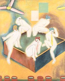 横尾忠則『乙女湯(へちまと壺)』2004年 作家蔵(横尾忠則現代美術館寄託)