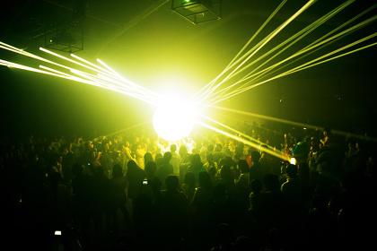 『Music Festival, teamLab Jungle』イメージビジュアル