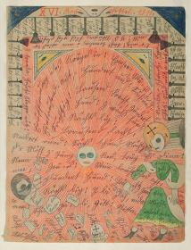 『エン湖での開戦.北アメリカ』1911年 ベルン美術館 アドルフ・ヴェルフリ財団蔵 ©Adolf Wölfli Foundation, Museum of Fine Arts Bern