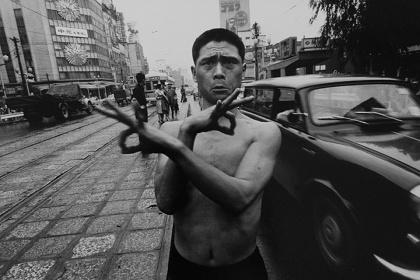 ウイリアム・クライン『Dance Happening, Tokyo1961』イメージビジュアル
