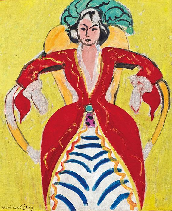 アンリ・マティス『ラ・フランス』1939年 公益財団法人ひろしま美術館
