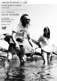 アイリン・グンガー『FROM WHERE I AM』展ポスタービジュアル