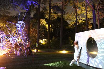 TTM:IGNITION_BOX 2016/2017 ANTIBODIES Collective Installation&Performance 『惑星共鳴装置』より (2016年10月1日、2日)©東京都庭園美術館