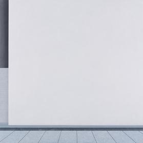 阪本トクロウ『呼吸』2016年 アクリル、岩絵具、麻紙 145.5×145.5cm ©Tokuro Sakamoto