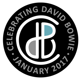 『CELEBRATING DAVID BOWIE』ロゴ