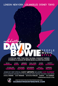 『CELEBRATING DAVID BOWIE』ビジュアル
