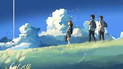 『雲のむこう、約束の場所』 ©Makoto Shinkai / CoMix Wave Films