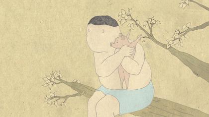 和田淳『わからないブタ』 2010年(参考作品)