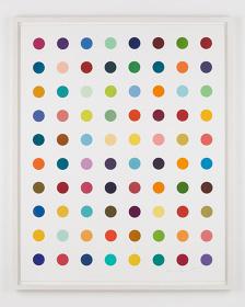 ダミアン・ハースト『Gly-Gly-Ala』2016  108.0 × 86.5 cm  woodcut print on paper  ©Damien Hirst