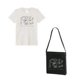オリジナルTシャツ、ショルダーバック