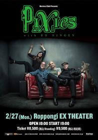 『Hostess Club Presents Pixies with BO NINGEN』フライヤービジュアル