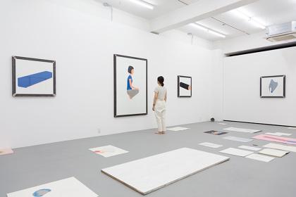 O JUN『ほったまるびより-O JUNと吉開菜央』Part1 展示風景 2016 Photo|Ryohei Tomita