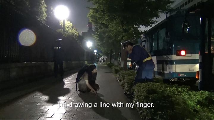 『線を引く(複雑かつ曖昧な世界と出会うための実践)』 2016年 映像
