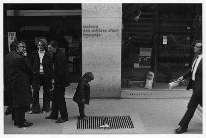 植田正治『音のない記憶』より 1972-3年 フランス・パリ ©Shoji Ueda