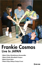 DUM-DUM LLP Presents『FRANKIE COSMOS LIVE IN JAPAN2017』フライヤービジュアル