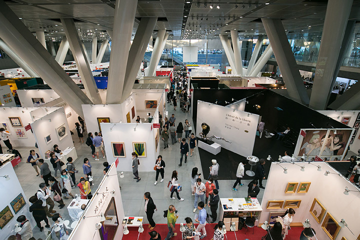 『アートフェア東京2016』会場風景 撮影:岩下宗利