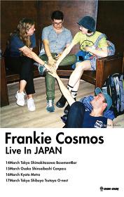 DUM-DUM LLP Presents『FRANKIE COSMOS LIVE IN JAPAN2017』フライヤービジュアル