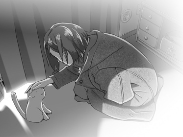 『彼女と彼女の猫』 ©Makoto Shinkai