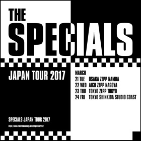 The Specials『JAPAN TOUR 2017』ビジュアル