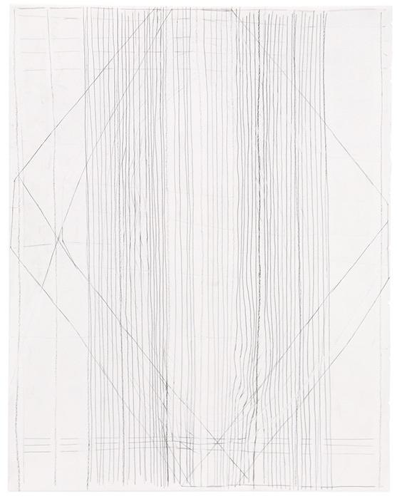 ゲルマン・シュテークマイヤー『Untitled』1998、2001、2013年 pencil and charcoal on paper 34.8×27.5cm ©German Stegmaier