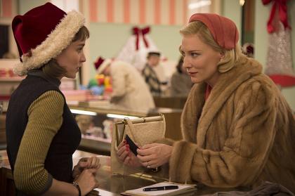 『キャロル』 ©NUMBER 9 FILMS(CALOL)LIMITED/CHANNEL FOUR TELEVISION CORPORATION 2014 ALL RIGHTS RESERVED
