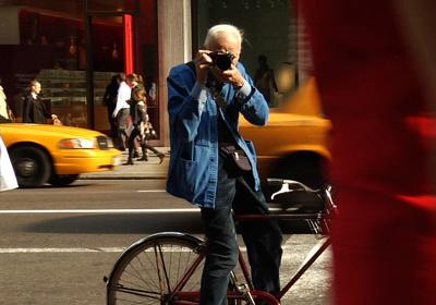 『ビル・カニンガム&ニューヨーク』©2010 The New York Times and First Thought Films.