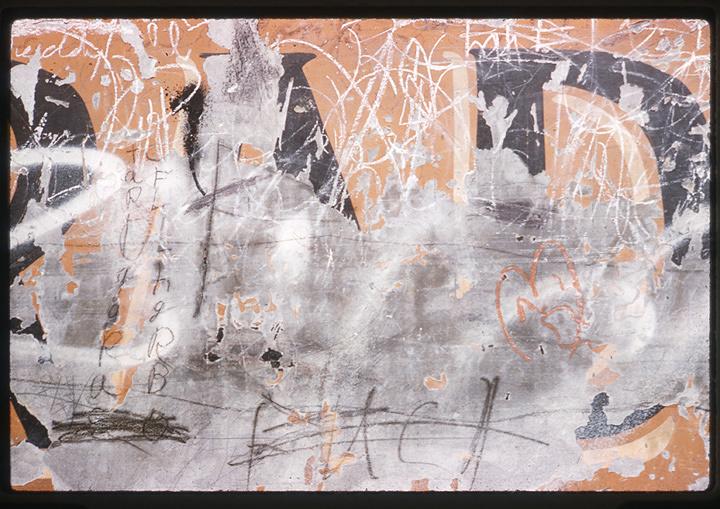 『WALLS IN N.Y.C./猪熊弦一郎』イメージビジュアル 撮影:猪熊弦一郎 ©公益財団法人ミモカ美術振興財団