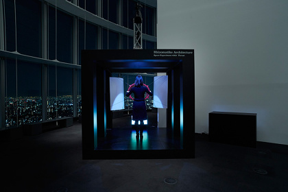 Rhizomatiks Architecture『Media Ambition Tokyo 2016 SPACE EXPERIMENT』 ©YAMAGUCHI KENICHI(RRD)