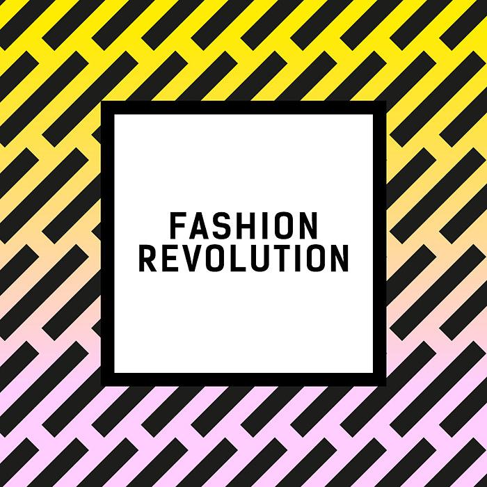 『FASHION REVOLUTION』ロゴ
