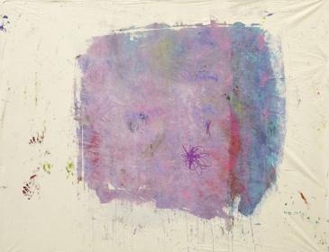 『薔薇の予感』2015acrylic on canvas155.0×195.0 cm © Ellie Omiya, Courtesy of Tomio Koyama Gallery