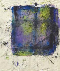 『とある窓辺』 2015acrylic on canvas185.0×173.0 cm  © Ellie Omiya, Courtesy of Tomio Koyama Gallery