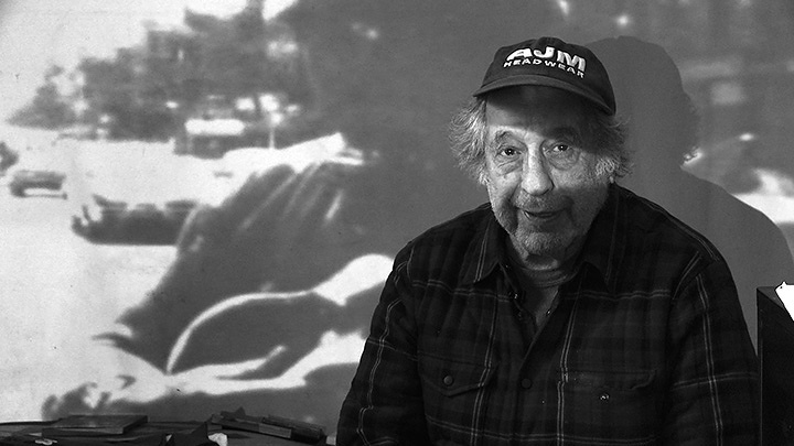 『Don't Blink ロバート・フランクの写した時代』 Photo of Robert Frank by Lisa Rinzler, copyright Assemblage Films LLC