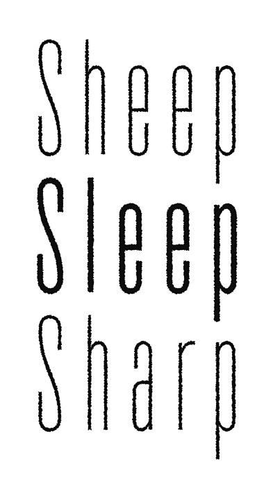 マームとジプシー『sheep sleep sharp』イメージビジュアル