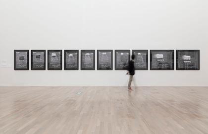 野村仁『Dryice: 1969』1969 高松市美術館蔵 撮影:豊永政史