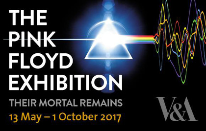 『The Pink Floyd Exhibition – Their Mortal Remains』ロゴ
