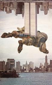 『思わぬ中断』フォトモンタージュ 1977年 ポズナン国立美術館蔵 ©ADAGP, Paris & JASPAR, Tokyo, 2017 E2551