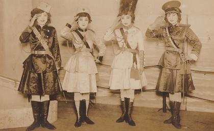 『春のぐらもくらぶ祭り 2017 これが浅草オペラだ! 誕生100年「女軍出征」の再演』イメージビジュアル