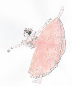 山岸凉子『舞姫―テレプシコーラ』 ©山岸凉子