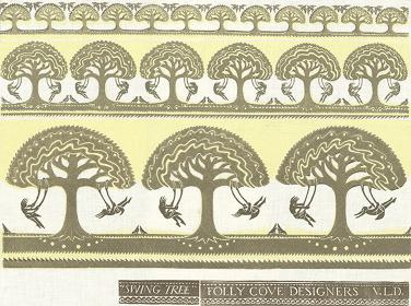 テキスタイル『Swing Tree』