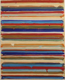 山田正亮作品 ©Masaaki Yamada, Work C.p 17, 1960, courtesy of Sakurado Fine Arts