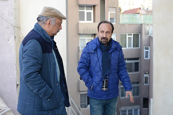 『セールスマン』メイキング風景 ©MEMENTOFILMS PRODUCTION-ASGHAR FARHADI PRODUCTION-ARTE FRANCE CINEMA 2016