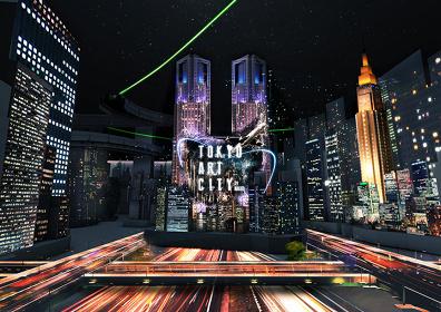 『TOKYO ART CITY by NAKED』渋谷スクランブル交差点イメージビジュアル